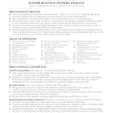 Business Systems Analyst Resume Sample Impressive System Analyst Resume Example Senior Business Systems Analyst Resume
