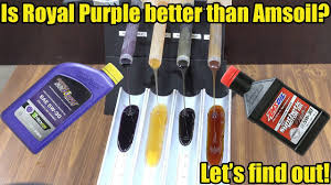 Is Royal Purple Better Than Amsoil Lets Find Out