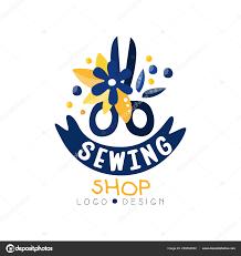 Fashion Designer Logo Design Sewing Shop Logo Design Dress Boutique Store Dressmakers