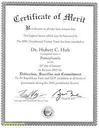 Certificate Template For Best Performance Fresh Merit Certificate