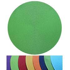 eva round placemat