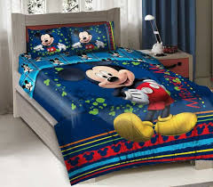 4pcs licensed disney mickey mouse fun bedding forter set fitted ideas of mickey mouse bedding