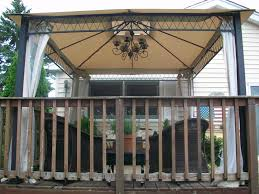 image of outdoor gazebo chandelier furniture