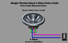 dual voice coil wiring dual image wiring diagram