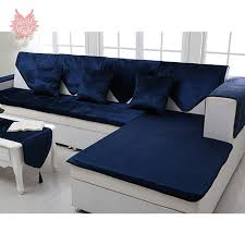 couch covers blue. Delighful Couch Free Shipping Royal Blue Velvet Sofa Cover Flannel Plush Slipcovers  Furniture Couch Covers Fundas De Inside Couch Covers Blue
