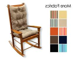 medium size of rocking chairs er barrel rocking chair covers cushion sets pad gecalsa within