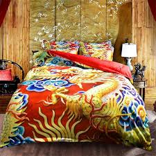 traditional bedding sets. Perfect Sets 3d Wedding Bedding Set Traditional Chinese Royal Duvet Cover 34 Pc Dragon  Phoenix Bed To Traditional Bedding Sets I