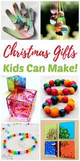 kid craft gifts for christmas. christmas gifts kids can make your family will love! kid craft for