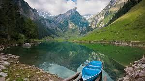 Mountain Lake Desktop Wallpaper