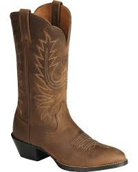 zoomed image ariat women s heritage western boots medium toe distressed