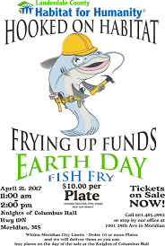 Fish Fry Flyer Microsoft Office Fundraiser To Help Habitat For Humanity
