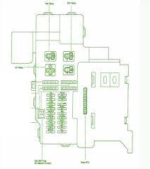 fuse layoutcar wiring diagram page 121 2003 toyota celica fuse box diagram