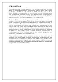 Social Networking Essay Sample Essay On Social Networking