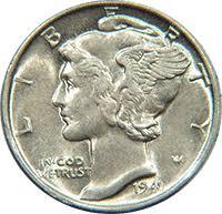 1941 D Mercury Dime Value Cointrackers