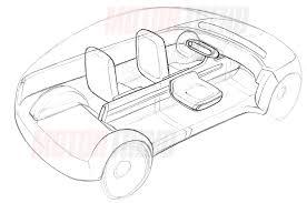 Apple car interior sketch motor trend