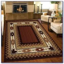 cabin rugs log area home design ideas decor bathroom rug sets
