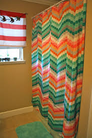 Wonderful Chevron Shower Curtain Target For My And Bathmat I Turned To Modern Design