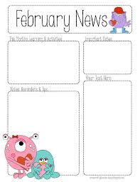 Preschool Newsletter Template Classy May Newsletter Template Studiojpilates