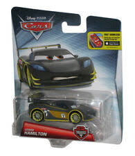 Hamilton chose the car's final black and yellow paint scheme for the car in the movie. Disney Pixar Cars Lewis Hamilton Carbon Racers Series Dhm81 For Sale Online Ebay
