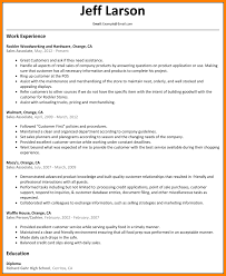5 Sales Associate Resume Skills Character Refence