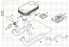 cooling system mack e7 oil cooler kit eck 8566 mack e7 oil cooler kit eck 8566