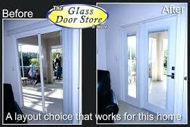 replacing glass in doors replacing sliding glass door with french doors awesome patio door replacement glass