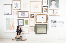 creating a wall art gallery