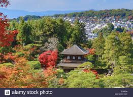 Japanese Landscape Architecture World Heritage Ginkaku Ji Japan Asia Kansai Kyoto Japanese