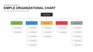 Simple Organizational Chart Powerpoint Template Keynote