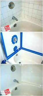 black mold bathtub caulking best way