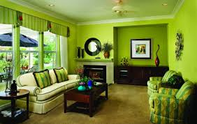 picking paint color 4 furniture green. Light Green Color Schemes Ideas For Amazing Family Room With Dark Comfortable Furniture And Brown Floor Rugs Design Also Using Fireplace Decoration Picking Paint 4
