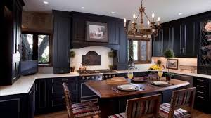 painted black kitchen cabinets before and after. How To Paint Kitchen Cabinets Black Painted Before And After B