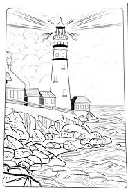 Coloring Pictures Of Lighthouseslll L