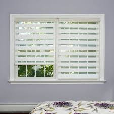 white blinds for windows. Beautiful For White Shades For Windows Shop Aurora Home Premium Duo Roller Wood  Look Window Shade Blinds Intended White Blinds For Windows