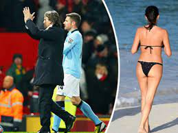 PICTURED: Ex-Man City boss unveils gorgeous new missus to the world - Daily  Star