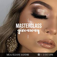 giveaway 2 day invitation to make up mastercl with eliane sandri hey beauty we have great