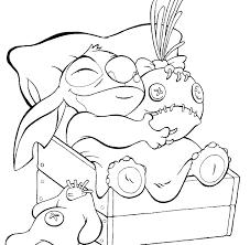Coloriage De Stitch A Imprimer L L L L L L