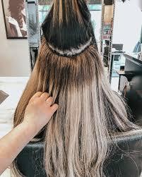 tie in hair extensions
