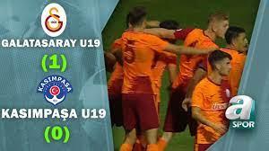 Galatasaray U19 1 - 0 Kasımpaşa U19 (Süper Lig U19 Gelişim Ligi Yarı Final  Maçı)