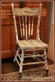 here is the chair after dh did many repairs