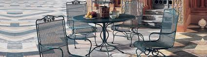 wrought iron outdoor furniture ct new