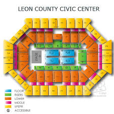 Fsu Civic Center Seating Chart Leon County Civic Center Related Keywords Suggestions