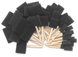sponge brush. foam brush, set of 48 sponge brush