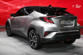 2016 Geneva Motor Show: 2017 Toyota C-HR crossover production ...