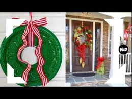 Christmas Door Decorating Ideas - Christmas Decoration Crafts
