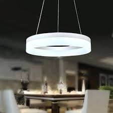 full image for girls chandelier lamp 24w led dimmable round hanging light chandelier pendant lamp remote