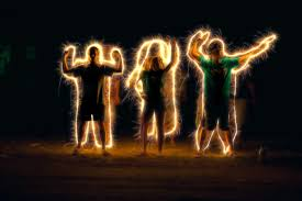sparkler pyrotechnics light painting illuminated fourth of july font gold design sparks performing arts sparkler