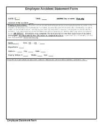 Incident Report Formats Word Bush Fire Incident