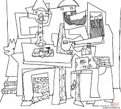 Small Picture Pablo Picasso coloring pages Free Coloring Pages