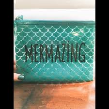 mermazing travel makeup bag